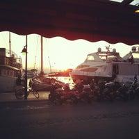 Photo taken at Senequier by Lorenzo P. on 4/6/2012