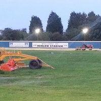 Photo taken at Henlow Dog Stadium by Christopher P. on 7/28/2012