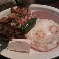 Photo taken at El Cuscatleco by Cortney S. on 2/11/2012