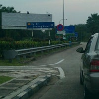 Photo taken at Plaza Tol Kulaijaya by Mohd S. on 6/3/2012