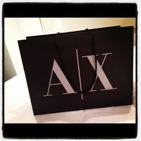 Photo taken at Armani Exchange by TP P. on 2/2/2012