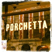 Photo taken at Porchetta by Bea V. on 7/29/2012