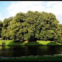 Photo taken at Kronvalda parks by Māris R. on 7/26/2012