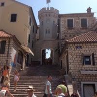 Photo taken at Herceg-Novi by Carlo L. on 8/23/2012