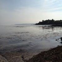 Photo taken at Hendricks Head Beach by Amy B. on 8/24/2012