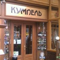 Снимок сделан в Ресторан-пивоварня «Кумпель» пользователем Sasha 6/27/2012