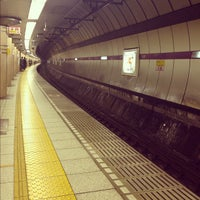 Photo taken at Nagatacho Station by Hide K. on 4/10/2012