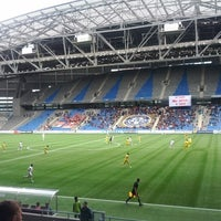 Photo taken at Astana Arena by Kuanyshbay N. on 5/6/2012