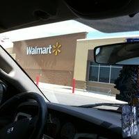 Photo taken at Walmart Supercenter by Steph B. on 7/31/2012