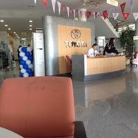 Photo taken at TOYOTA วรจักรยนต์ by Kung C. on 8/21/2012