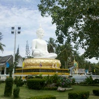 Photo taken at วัดแหลมสน by Commander James B. on 7/27/2012
