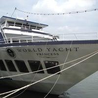 Photo taken at World Yacht by Scott on 7/15/2012