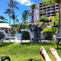 Photo taken at Marriott's Maui Ocean Club  - Lahaina & Napili Towers by Chase on 6/9/2012