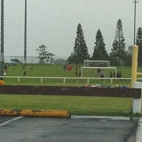 Photo taken at Eddie Tam Field and Gym by hnygirl2000 on 6/23/2012