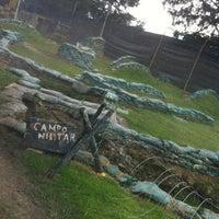 Photo taken at Al Limite Paintball by Rodrigo G. on 8/19/2012