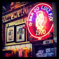 Photo taken at Bar do Luiz Fernandes by Beto S. on 4/17/2012