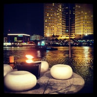 Photo taken at Millennium Hilton Bangkok by Fernando C. on 4/29/2012