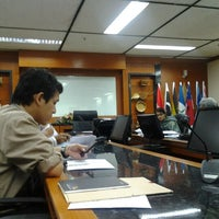 Photo taken at Jabatan Kemajuan Orang Asli by Faizall S. on 9/5/2012