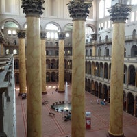 Photo taken at National Building Museum by Alex K. on 7/5/2012