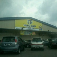 Photo taken at TF Value-Mart by Azeem H. on 8/20/2012
