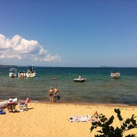 Photo taken at West Arm Grand Traverse Bay by Angelika on 7/28/2012