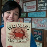 Photo taken at Woody's Crab House by Dennis O. on 6/9/2012