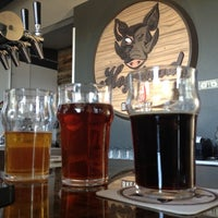 Photo taken at Hogshead Brewery by Ashley T. on 8/19/2012