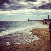 Foto tomada en Playa de la Mar Bella por Jordi S. el 9/2/2012