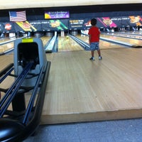 Photo taken at AMF Star Lanes - Greenville by Rya C. on 8/3/2012