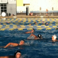 Photo taken at Heritage HS Pool by Steve G. on 6/22/2012