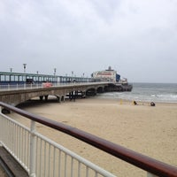 Photo taken at Bournemouth Pier by Paul K. on 6/14/2012