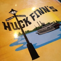 Photo taken at Huck Finn's Cafe by Mike P. on 4/16/2012