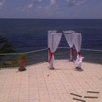 Photo taken at Playa Del Este Sanctuary Private Resort by Aneesa M. on 9/8/2012