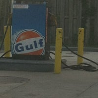 Photo taken at Gulf Gas Station by Melissa on 7/28/2012