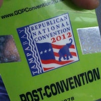 Photo taken at 2012 Republican National Convention by Mike A. on 8/31/2012
