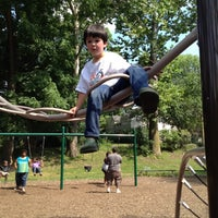 Photo taken at Memorial Park Playground by Wade C. on 6/30/2012