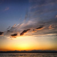 Photo taken at Golden Gardens Park by Seth Y. on 3/25/2012