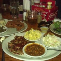 Photo taken at Puckett's Grocery & Restaurant by Margaret Gosia K. on 10/14/2012