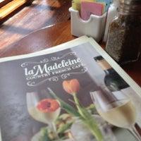 Photo taken at la Madeleine French Bakery & Café Collin Creek by Jeran A. on 6/29/2014