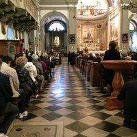 Photo taken at Duomo Palmanova by Agu on 4/7/2013