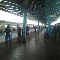 Photo taken at metro Ulitsa Gorchakova by Vanya K. on 1/12/2013