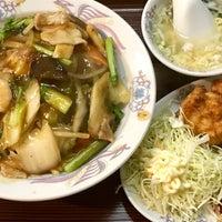 Photo taken at 中華料理 八起 by ことの い. on 9/2/2017