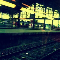 Photo taken at Paris Saint-Lazare Railway Station by Lucile L. on 11/24/2012