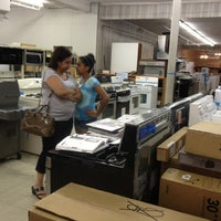 Photo taken at Appliance Arama by Maureen G. on 8/6/2013
