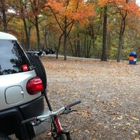 Photo taken at Greensfelder County Park by Travis A. on 10/19/2012