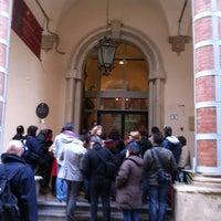 Photo taken at Palazzo Fava - Palazzo delle Esposizioni by Lorenza T. on 10/28/2012
