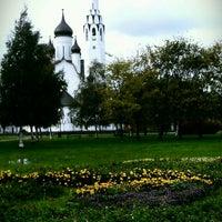 Photo taken at Парк Строителей by boolochka88 on 10/2/2012