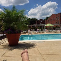 Photo taken at The Car Barn Pool by John T. on 6/29/2013