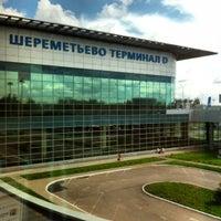 Photo taken at Sheremetyevo International Airport (SVO) by Руслан М. on 7/25/2013