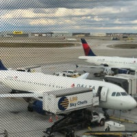 Photo taken at Gate A70 by Trish H. on 11/25/2017